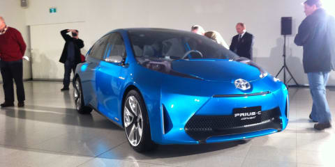 Toyota previews Melbourne Motor Show vehicles