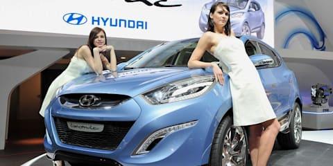 Hyundai ix-onic concept car - 2009 Geneva Motor Show