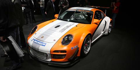 Porsche 911 GT3 R Hybrid unveiled at Geneva Motor Show