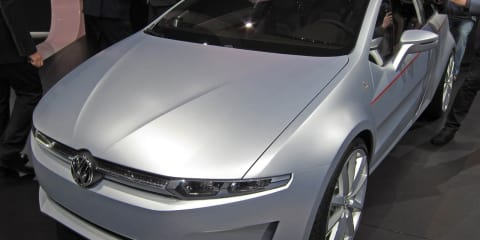 Volkswagen Italdesign Giugiaro Tex Concept at Geneva