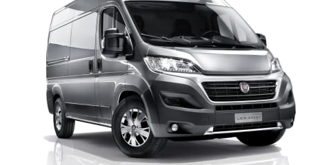 Fiat Ducato large van revealed