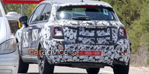 2019 Fiat 500X facelift spied