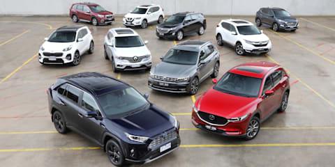 Best medium family SUV 2019: Holden Equinox v Honda CR-V v Hyundai Tucson v Kia Sportage v Mazda CX-5 v Nissan X-Trail v Renault Koleos v Subaru Forester v Toyota RAV4 v Volkswagen Tiguan