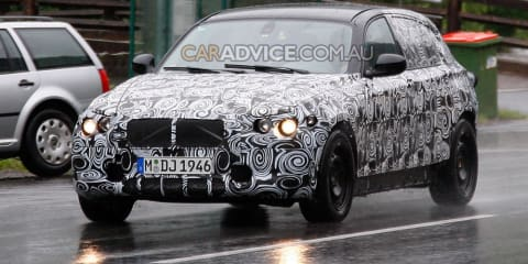 2011 BMW 1 Series prototype spied