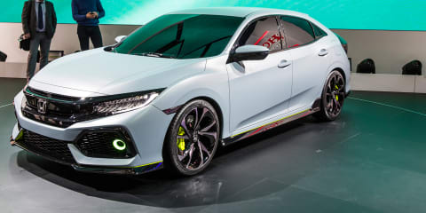 2017 Honda Civic hatch concept revealed, Australian launch confirmed but some way off