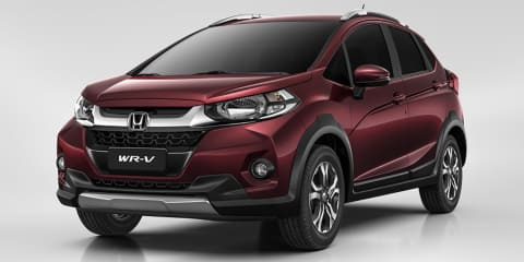 Honda WR-V:: Jacked-up Jazz revealed for South America