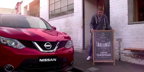 Nissan Qashqai video hints at local division's re-naming nerves