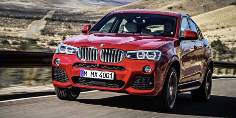BMW X4 :: baby X6 here third quarter