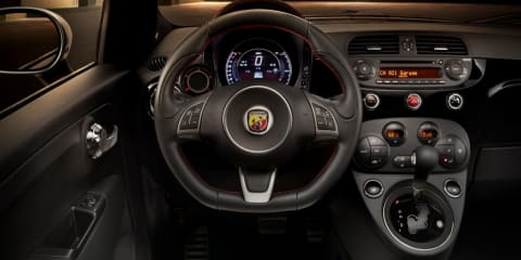 2015 Fiat 500 Abarth : New automatic gearbox improves torque, still no-go for Australia
