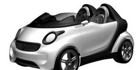 2012 Smart Roadster patent images leaked