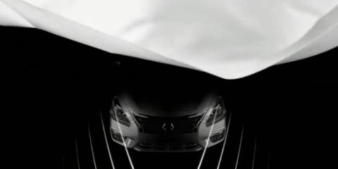 Nissan Altima final teaser (Maxima replacement)