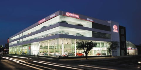 Toyota's new Adelaide dealership leads future customer experience
