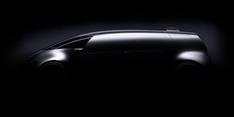 Mercedes-Benz teases sleek autonomous van for Tokyo motor show