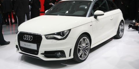 Audi A1 officially unveiled at Geneva 2010