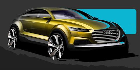Audi TT crossover concept headed to Beijing