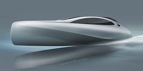 Mercedes-Benz designs Granturismo yacht