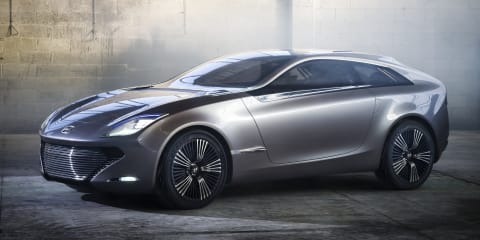 Hyundai i-oniq concept spreads its wings