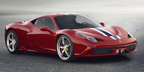 Ferrari 458 Speciale revealed