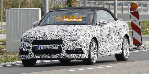 Audi S3 Cabriolet: performance drop-top spied