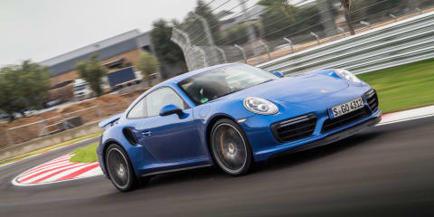Porsche shows off all-wheel drive with 911 Turbo S hillclimb - VIDEO