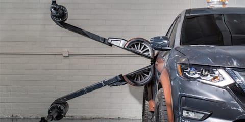 Nissan reveals six Star Wars: The Last Jedi models