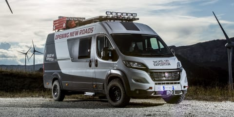 Fiat Ducato 4x4 Expedition concept unveiled