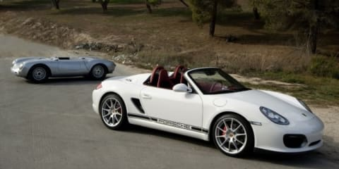 Porsche 'baby Boxster' production hinges on global economy