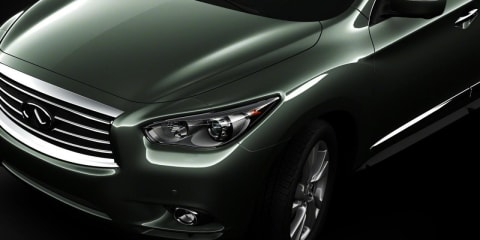 2013 Infiniti JX front image revealed