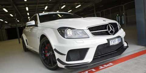 Mercedes-Benz C63 AMG Coupe Black Series unleashed