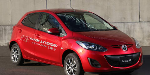 Mazda rotary could power homes, shops and camping equipment