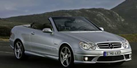 Mercedes Benz CLK 500 CLK 63 AMG