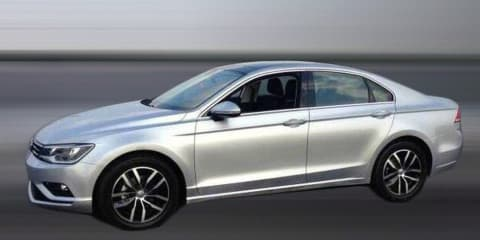 Volkswagen New Midsize Coupe uncovered in production guise