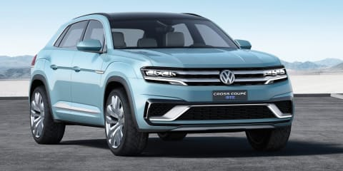 Volkswagen Cross Coupe GTE concept : Affordable X6 rival revealed