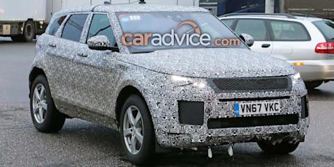 2019 Range Rover Evoque spied
