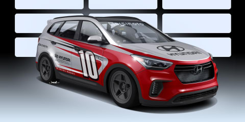 Hyundai Santa Fe:: RWD crossover heading to SEMA 2016 with 775kW V6