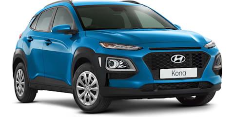 2019 Hyundai Kona pricing and specs