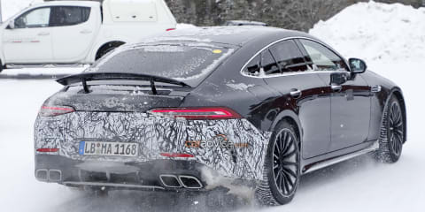 2021 Mercedes-AMG GT73 spied winter testing