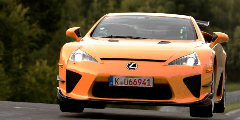 Nurburgring speed limits lifted:: bring on the lap records