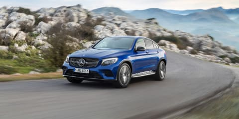 2016 Mercedes-Benz GLC Coupe priced from $77,100 - UPDATE