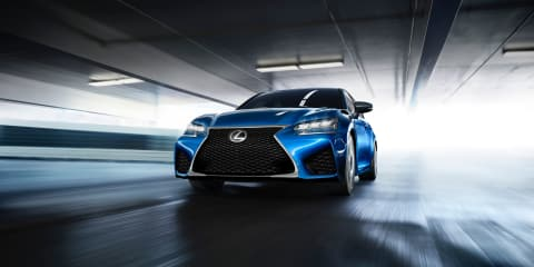 Lexus GS F revealed ahead of 2015 Detroit auto show debut