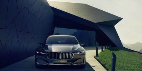 BMW Vision Future Luxury concept revealed
