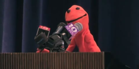 Video: Puppet named Doug promotes 2012 Ford Focus