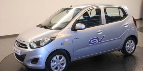 Hyundai BlueOn Electric Car