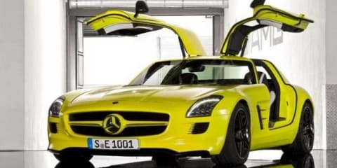 Mercedes-Benz SLS AMG E-Cell production confirmed