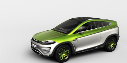 Magna Steyr Mila Coupic concept Geneva preview