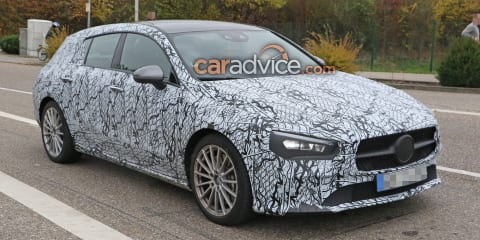 2020 Mercedes-Benz CLA Shooting Brake spied