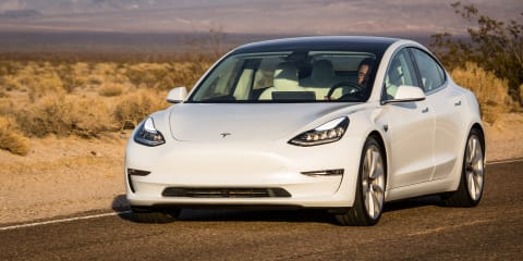 Tesla Model 3 orders open in Australia, here in August