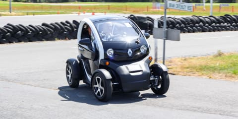 Renault Twizy Review :: first Australian drive