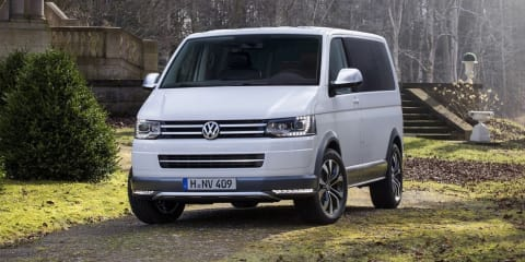 Volkswagen Multivan Alltrack : rugged AWD people mover concept revealed