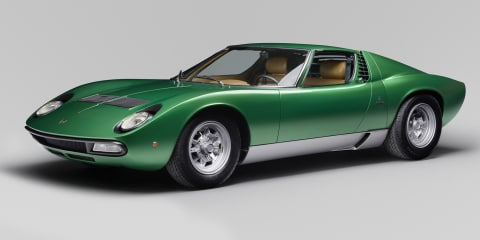 Lamborghini Miura SV 50th anniversary restoration revealed for Florida show